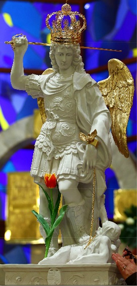 Znalezione obrazy dla zapytania św. michał archanioł z gargano